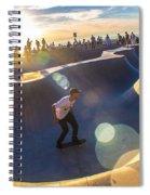 Venice Skate Park Spiral Notebook