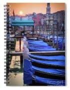Venice Sunrise Spiral Notebook