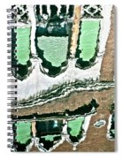 Venice Upside Down 2 Spiral Notebook