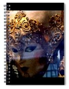 Venician Masks Spiral Notebook