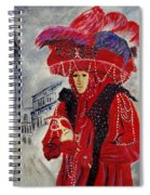 Venitian Mask 0130 Spiral Notebook