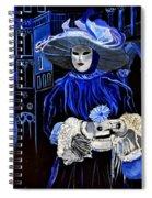 Venitian Mask  Spiral Notebook