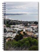 Ventura Coast Skyline Spiral Notebook