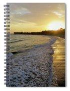 Ventura Gold Spiral Notebook