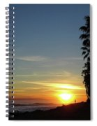 Ventura Sunset Spiral Notebook