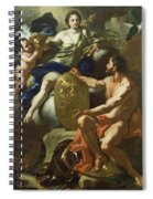 Venus At The Forge Of Vulcan Spiral Notebook