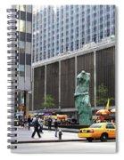 New York's Venus De Milo Spiral Notebook