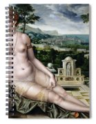 Venus Of Cythera Spiral Notebook