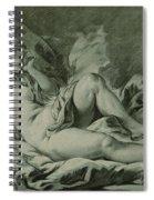 Venus Sleeping Spiral Notebook
