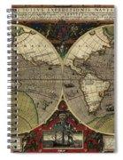 Vera Totius Expeditionis Nauticae Of 1595 Spiral Notebook