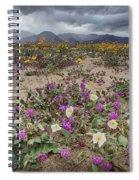 Verbena And Primrose Spiral Notebook