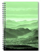 Verdant Hills Of The Tonto Spiral Notebook