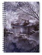 Verde Spring Reflections Spiral Notebook