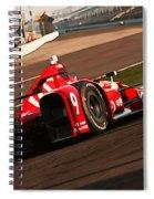 Verizon Indycar Series - 3 Spiral Notebook
