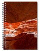 Vermilion Cliffs Abstract Spiral Notebook