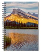 Vermillion Lakes And Mt Rundle II Spiral Notebook