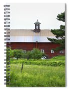 Vermont Barn With Tire Swing Spiral Notebook