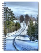 Vermont Country Landscape Spiral Notebook