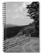 Vermont Countryside 2006 Bw Spiral Notebook