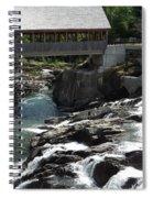 Vermont Covered Bridge Spiral Notebook