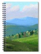Vermont Pastures Spiral Notebook