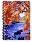 Vermont River Spiral Notebook