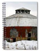 Vermont Round Barn Spiral Notebook