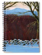 Vermont Stone Wall Spiral Notebook