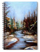 Vermont Stream Spiral Notebook