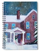 Vermont Studio Center In Winter Spiral Notebook