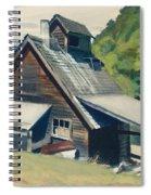 Vermont Sugar House Spiral Notebook