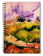 Vermont Summers Spiral Notebook