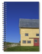 Vermont Yellow Barn 8x10 Ratio Spiral Notebook