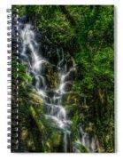 Vernal Fall At Rincon De La Veija Spiral Notebook