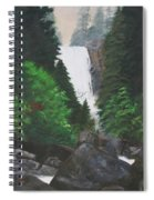 Vernal Falls Spiral Notebook