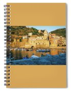 Vernazza, Italy, At Sunset Spiral Notebook