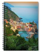 Vernazza From Above Spiral Notebook