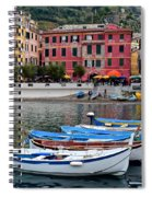 Vernazza Harbor Spiral Notebook
