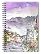Vernazza In Italy 03 Spiral Notebook