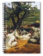 Vernet: Arab Tale-teller Spiral Notebook
