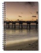 Vero Beach Sunrise Spiral Notebook