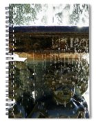 Versailles Fountain Spiral Notebook