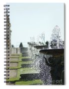 Versailles Fountains Spiral Notebook