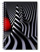 Versiera Opart Spiral Notebook
