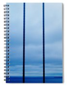 Vertical Cables Spiral Notebook