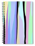 Vertical Coloration Spiral Notebook