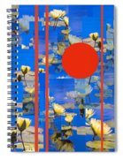 Vertical Horizon Spiral Notebook