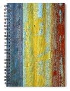 Vertical Interfusion II Spiral Notebook