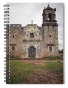 Vertical Mission Facade Spiral Notebook