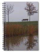 Vertical Reflection Spiral Notebook